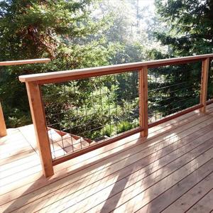 creative deck railings